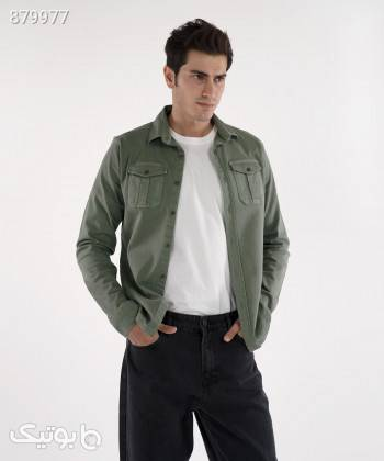پیراهن کتان مردانه وینترهارت WinterHart کد M2002005SH طوسی تی شرت و پولو شرت مردانه