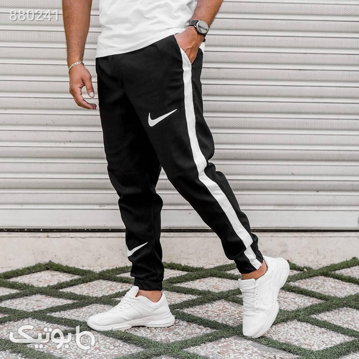 شلوار اسلش Nike مردانه مدل Rizon مشکی شلوار اسلش مردانه