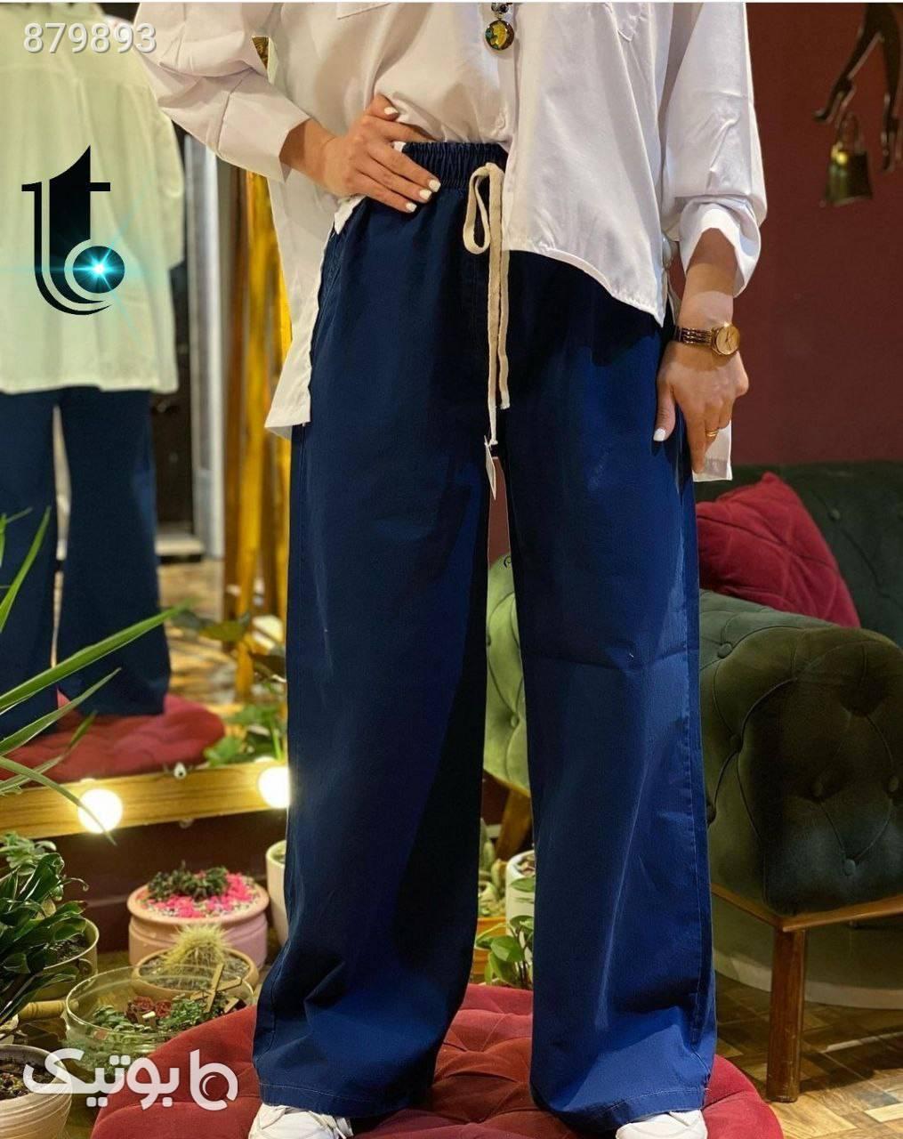 شلوار جین زیبا و ترند1400 سورمه ای شلوار جین زنانه