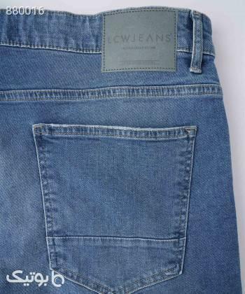 شلوار جین مردانه ال سی وایکیکی LC Waikiki کد 1S58721 سورمه ای شلوار جین مردانه