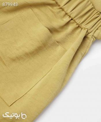شلوار پارچه ای زنانه جوتی جینز JootiJeans کد 11751422 زرد شلوار پارچه ای و کتانی زنانه