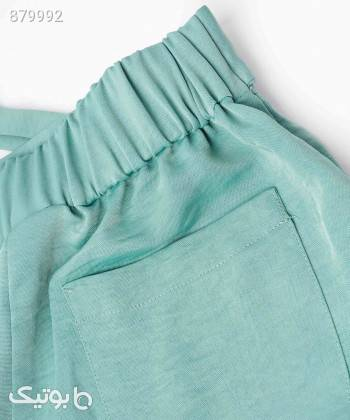 شلوار پارچه ای زنانه جوتی جینز JootiJeans کد 11751422 فیروزه ای شلوار پارچه ای و کتانی زنانه