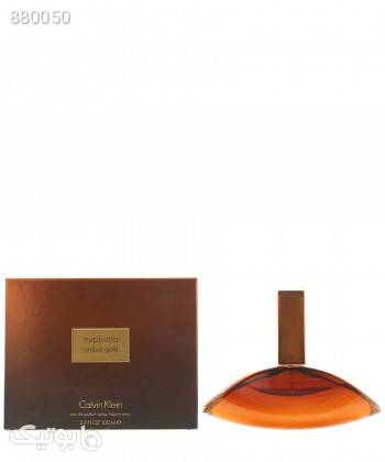 ادوپرفیوم زنانه کلوین کلاین Calvin Klein مدل Euphoria Amber Gold حجم 100 میلی لیتر قهوه ای عطر و ادکلن