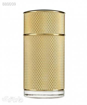 ادوپرفیوم مردانه آلفرد دانهیل Alfred Dunhill مدل Icon Absolute حجم 100 میلی لیتر طلایی عطر و ادکلن
