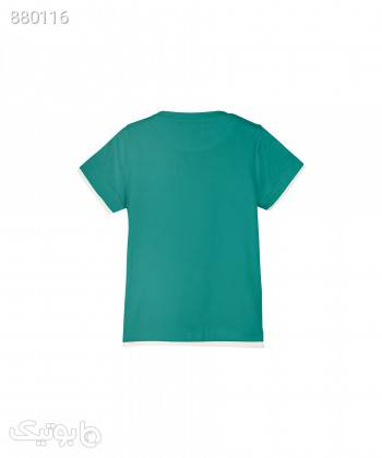 تیشرت بچگانه تودوک TwoDook کد 5759 سبز لباس کودک پسرانه