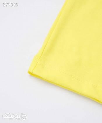 تیشرت پسرانه ال سی وایکیکی LC Waikiki کد 1S17737 زرد لباس کودک پسرانه