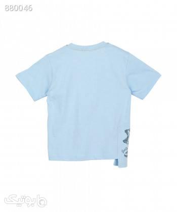 تیشرت پسرانه نونا Nona کد 221110163 فیروزه ای لباس کودک پسرانه