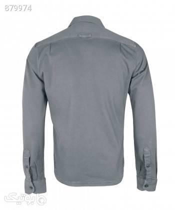 پیراهن کتان مردانه وینترهارت WinterHart کد M2002005SH طوسی پيراهن مردانه