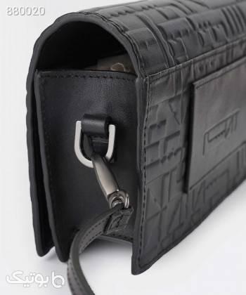 کیف دوشی زنانه چرم درسا Dorsa کد 41818 مشکی كتانی زنانه