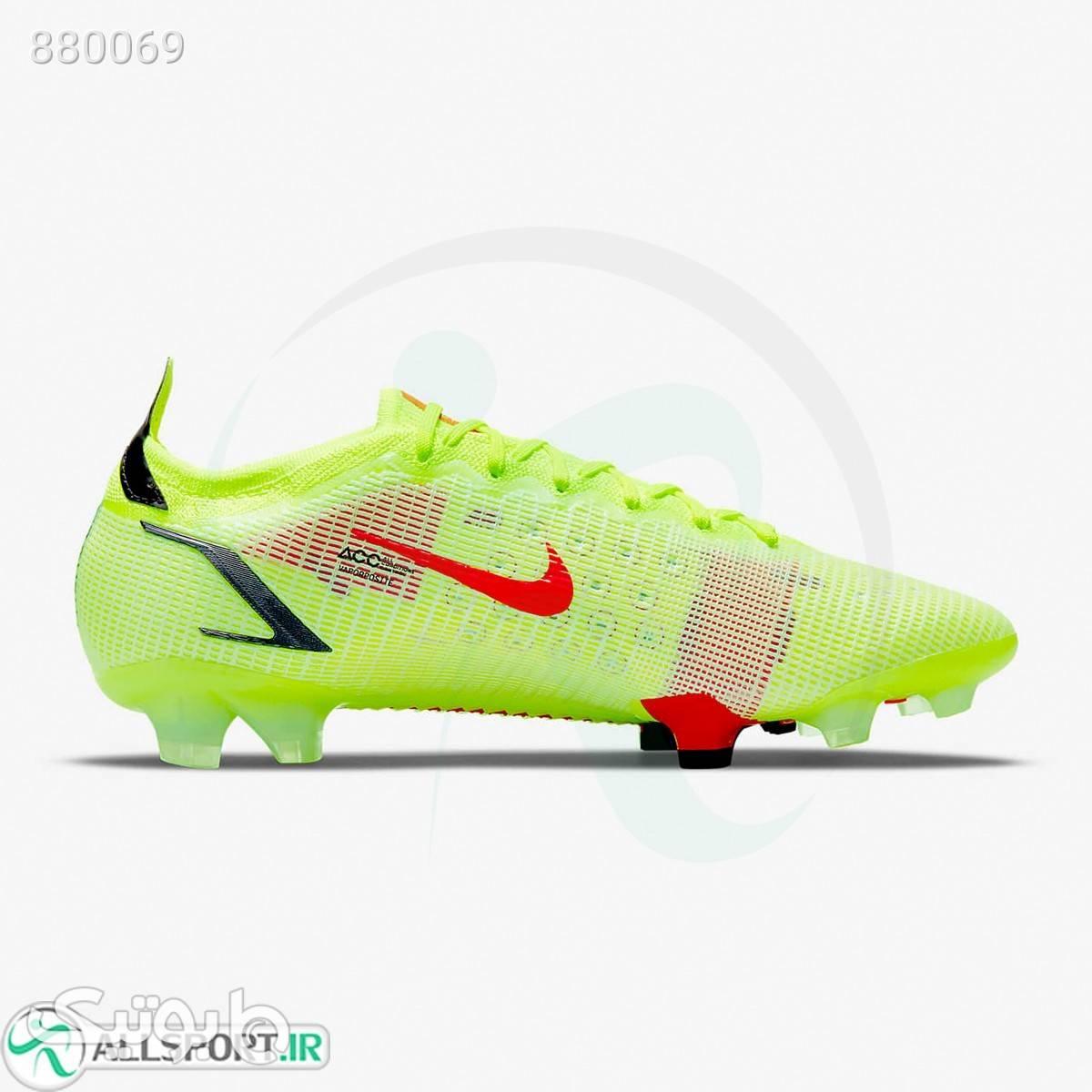 کفش فوتبال نایک مرکوریال Nike Mercurial Vapor 14 Elite FG CQ7635760 سبز كتانی مردانه