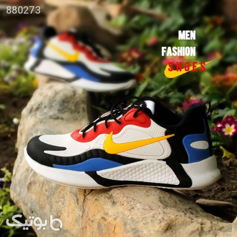 کفش مردانه Nike مدل Air270 (زرد،قرمز) زرد كتانی مردانه