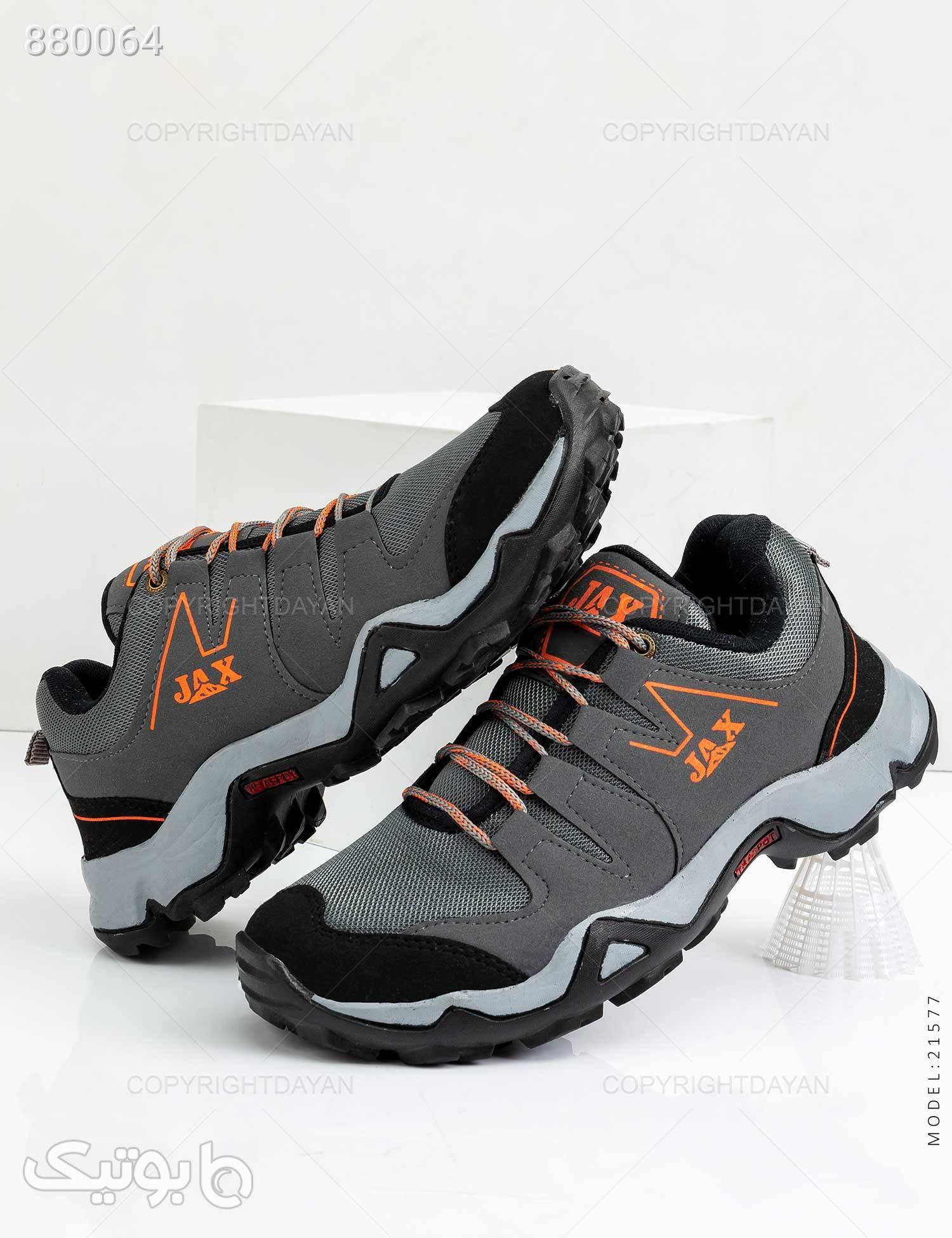 کفش ورزشی مردانه Jiaxiang مدل 21577 طوسی كتانی مردانه