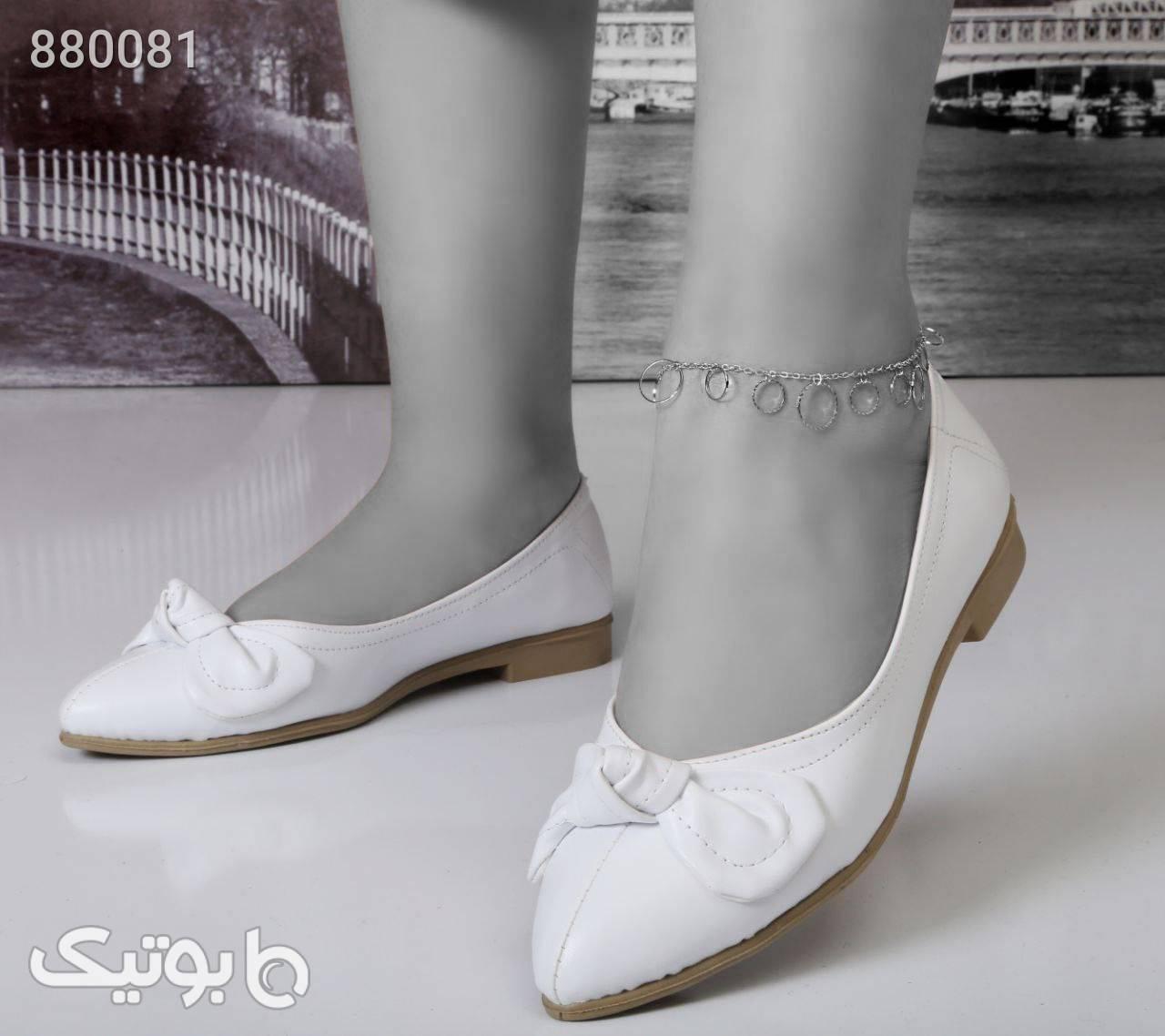 کفش عروسکی کانکو، زیره راحت و رویه نرم مشکی کفش تخت زنانه