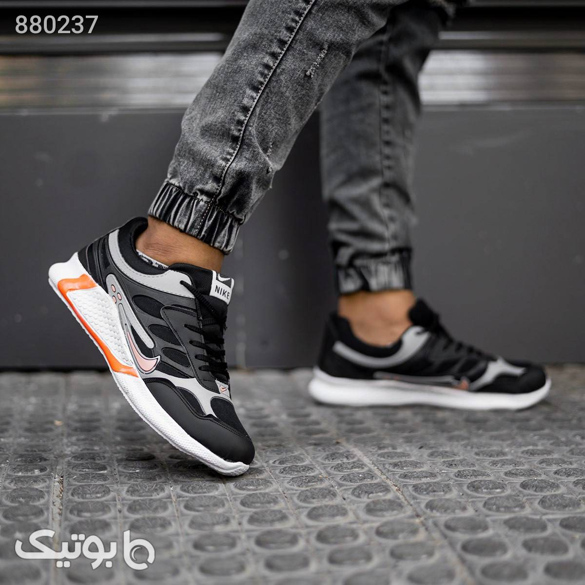 کفش ورزشی Nikeمردانه مدل Liyan مشکی كفش مردانه