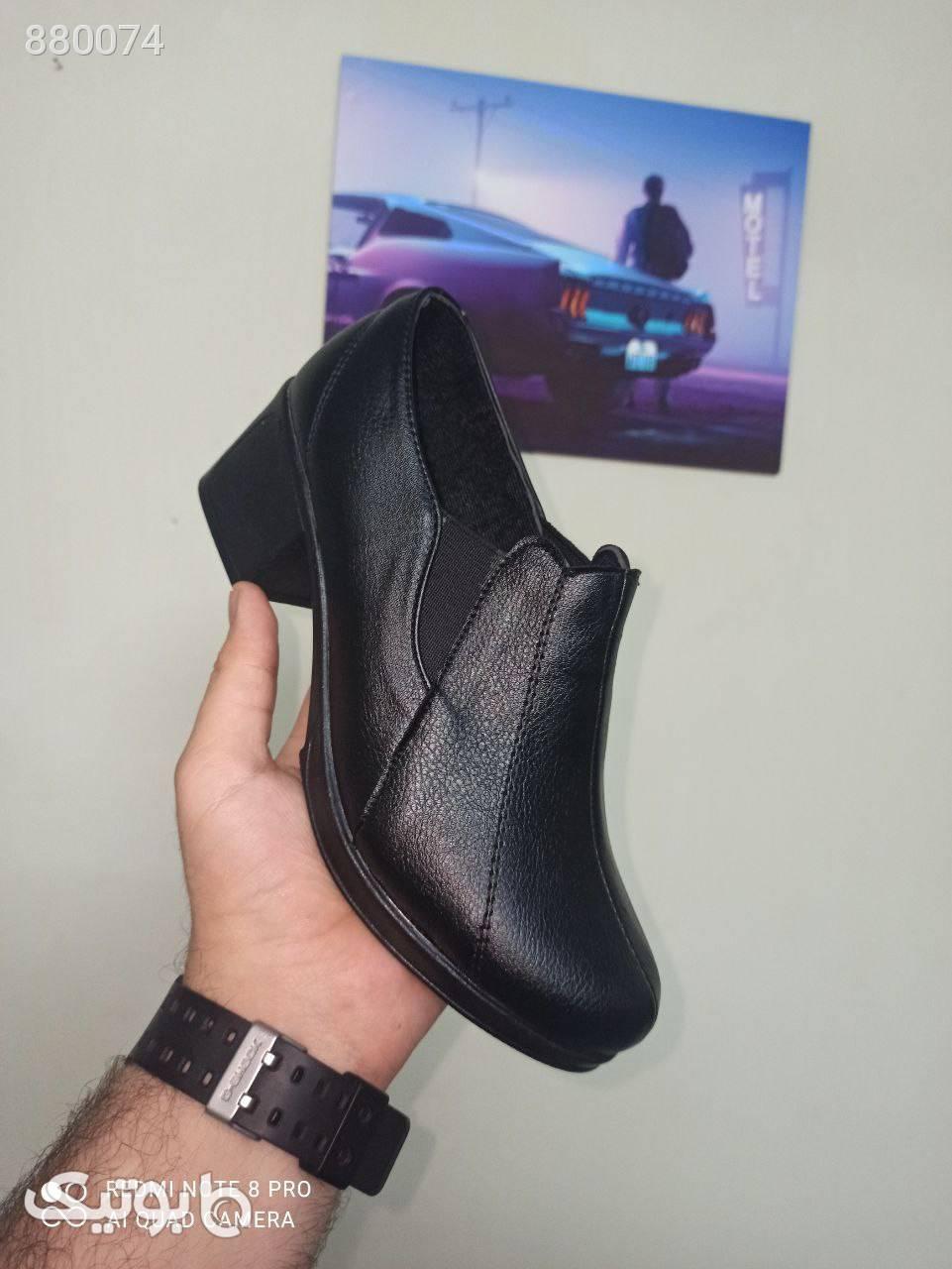 کفش جدید شرانگ هپی زیره پیو پاخور عالی مشکی كفش پاشنه بلند زنانه