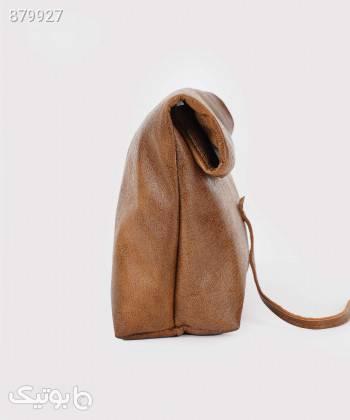 کیف دستی زنانه چرم لانکا Lanka Leather مدل HB26 قهوه ای كيف زنانه
