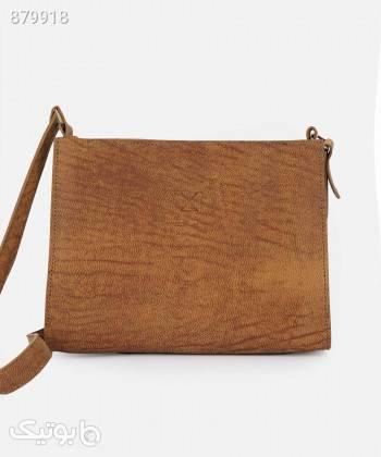 کیف دوشی زنانه چرم لانکا Lanka Leather مدل HB28 قهوه ای كيف زنانه