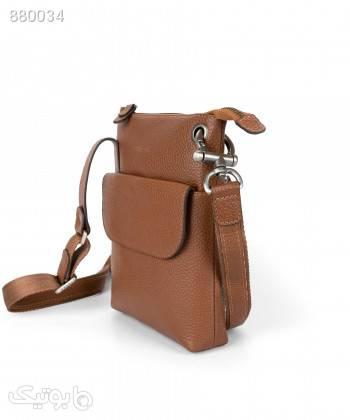 کیف دوشی مارال چرم Maral Leather مدل پاور قهوه ای كيف زنانه