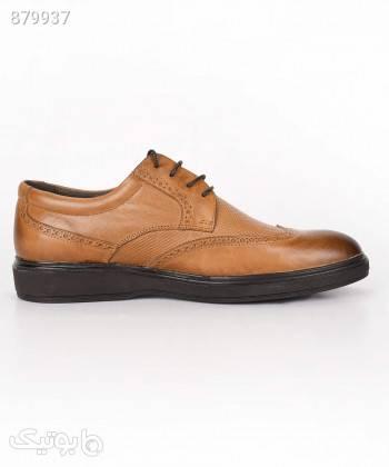 کفش مردانه مارال چرم Maralleather مدل ویلسون طلایی كيف مردانه