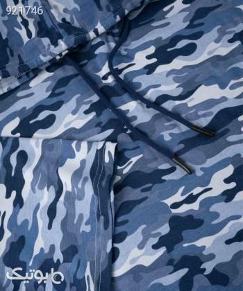 تیشرت اورسایز زنانه جوتی جینز JootiJeans کد 11773639 آبی تی شرت زنانه