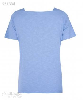 تیشرت زنانه جین وست Jeanswest کد 01273503 آبی تی شرت زنانه