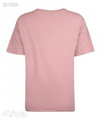 تیشرت زنانه جین وست Jeanswest کد 01273512 صورتی تی شرت زنانه