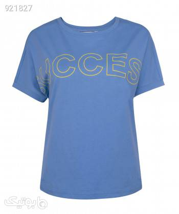 تیشرت زنانه جین وست Jeanswest کد 02273509 آبی تی شرت زنانه