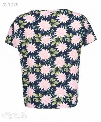 تیشرت طرح دار زنانه جوتی جینز JootiJeans کد 11773025 مشکی تی شرت زنانه