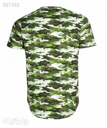 تیشرت طرح دار مردانه جوتی جینز JootiJeans کد 11573022 سبز تی شرت و پولو شرت مردانه