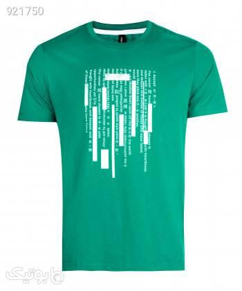 تیشرت مردانه جین وست Jeanswest کد 02173515 سبز تی شرت و پولو شرت مردانه