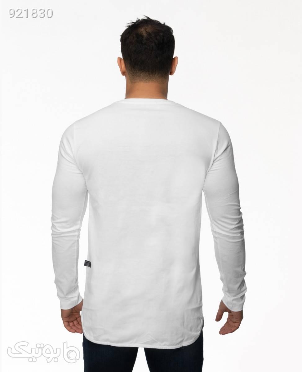 تیشرت ZaraWhite3XL سفید تی شرت و پولو شرت مردانه