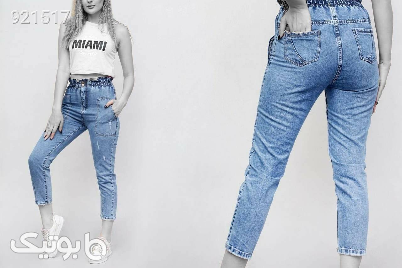 شلوار جین نام استایل  آبی شلوار جین زنانه