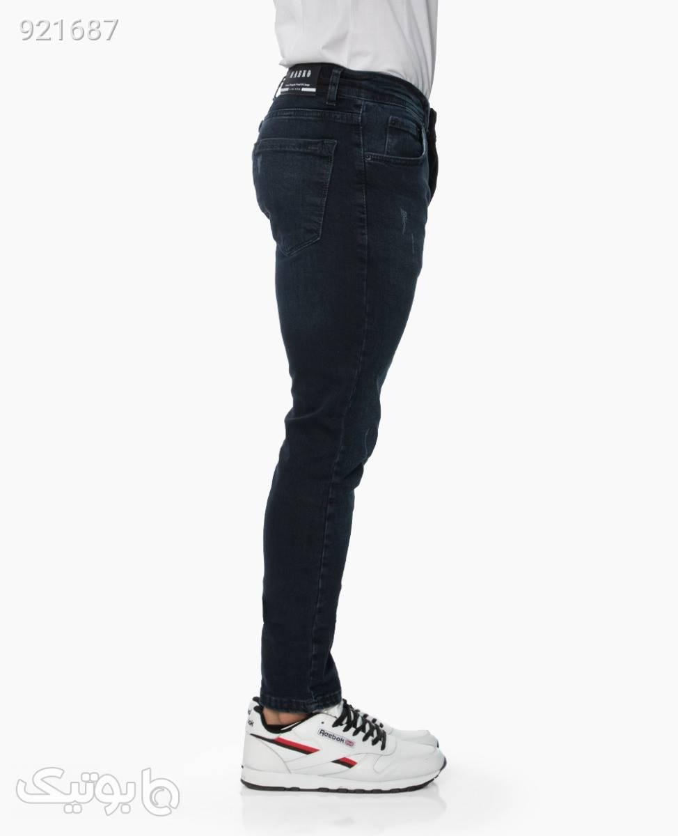 شلوار جین NarkoDarkBlue36 سورمه ای شلوار جین مردانه