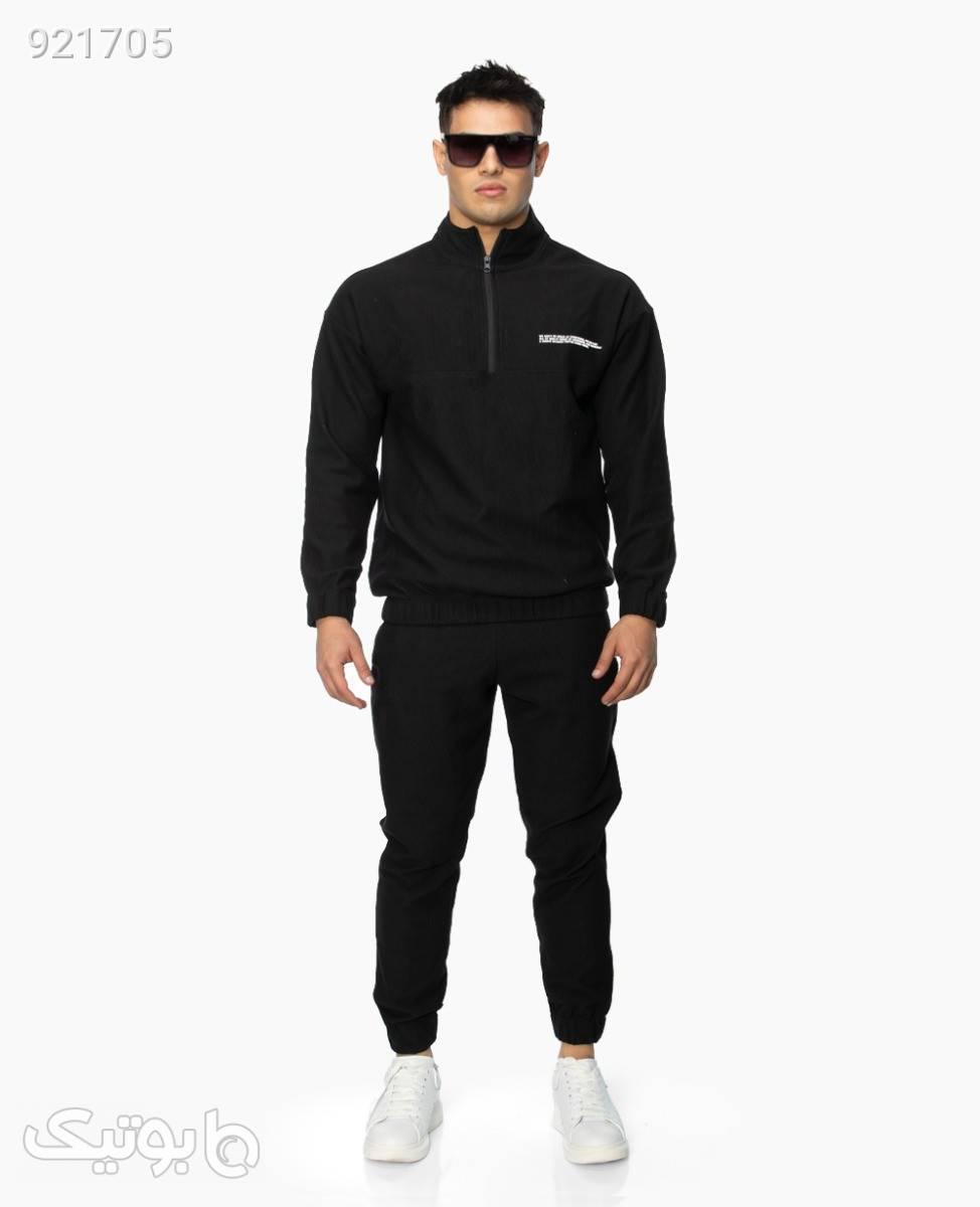 ست پلیور و شلوار CLANGBlackXL مشکی لباس راحتی مردانه
