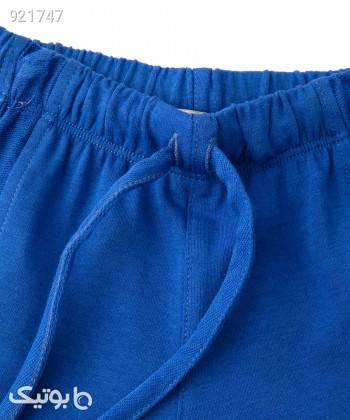 شلوارک پسرانه پیانو Piano کد 1954 آبی لباس کودک پسرانه