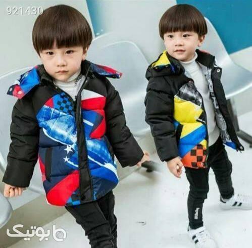 کاپشن  مشکی لباس کودک پسرانه