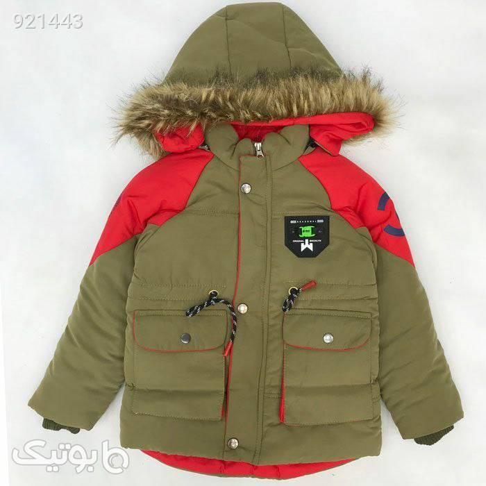کاپشن  سبز لباس کودک پسرانه