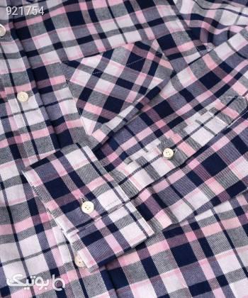 پیراهن چهارخانه مردانه جوتی جینز JootiJeans کد 11531050 نقره ای پيراهن مردانه