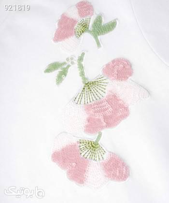 تیشرت زنانه جین وست Jeanswest کد 01273512 سفید پيراهن و سارافون زنانه