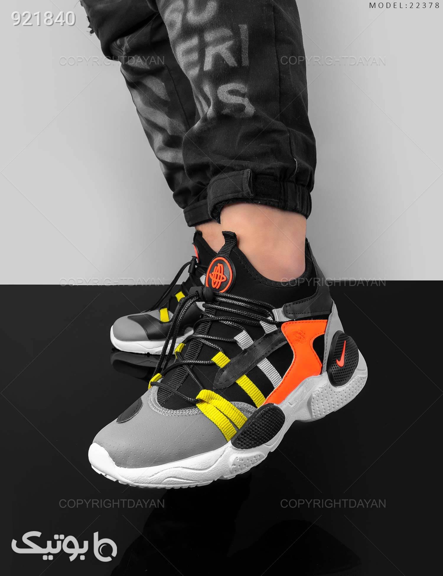 کفش ورزشی مردانه Nike مدل 22378 مشکی كتانی مردانه