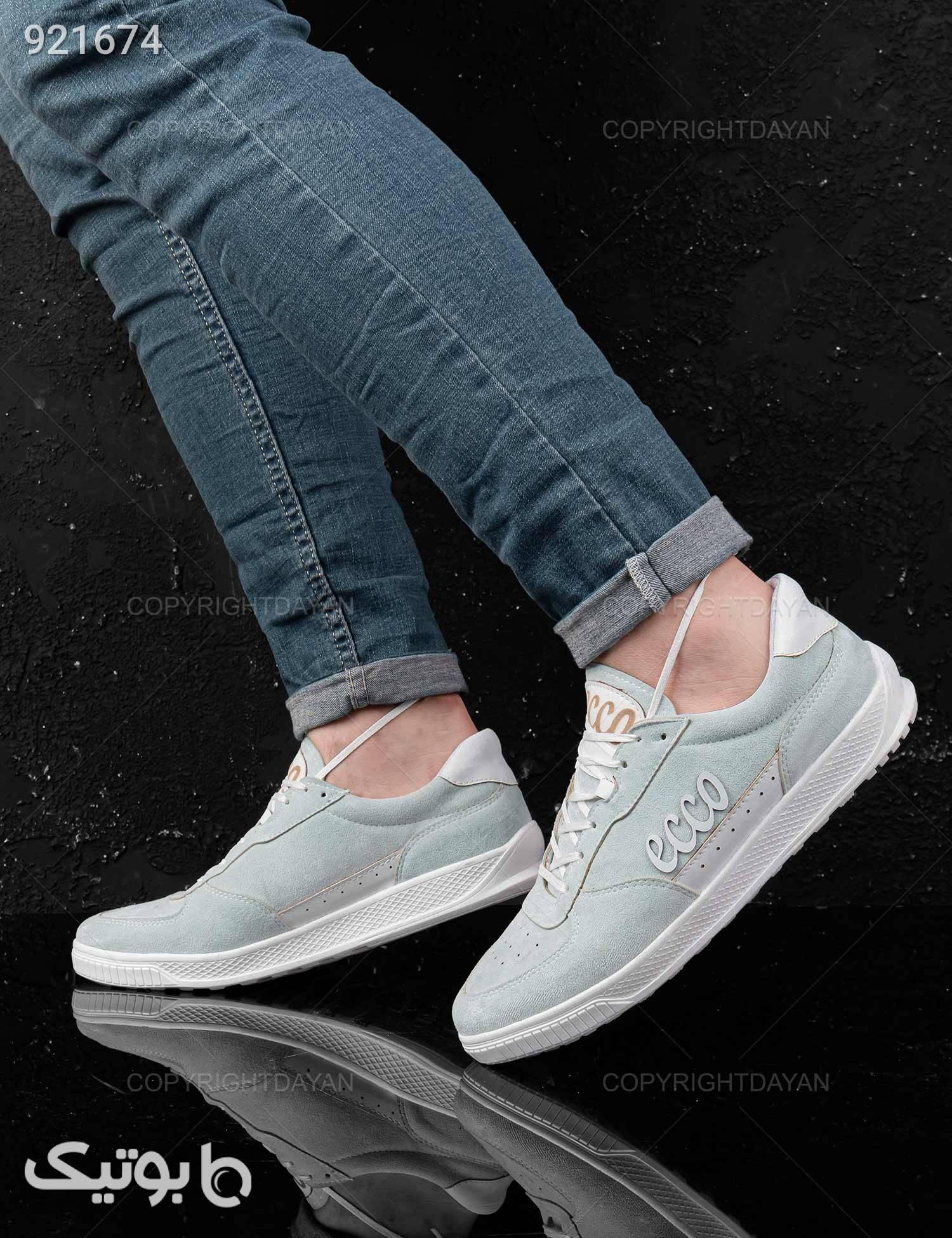 کفش روزمره مردانه Ecco مدل 22052 طوسی كفش مردانه