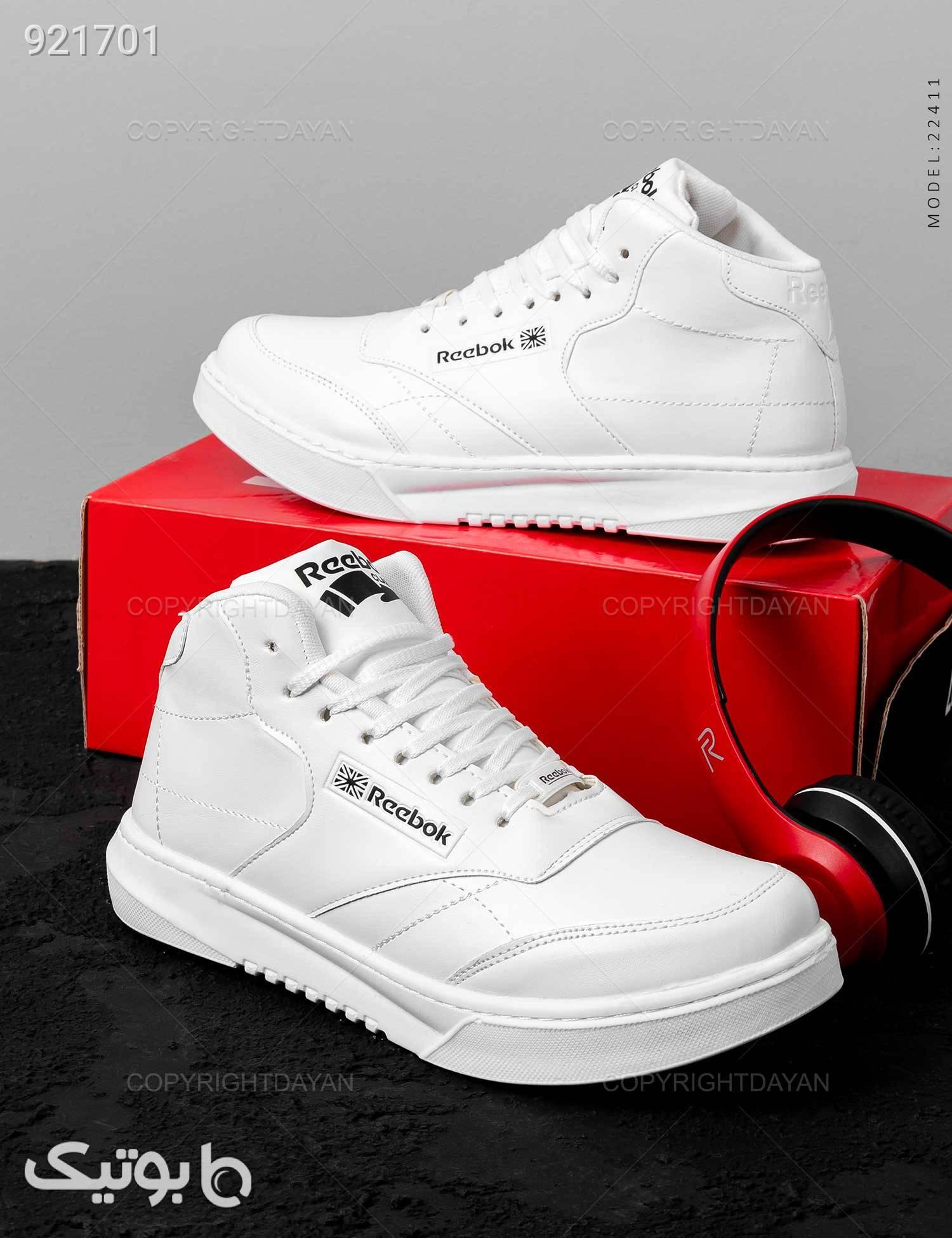 کفش روزمره مردانه Reebok مدل 22411 سفید كفش مردانه