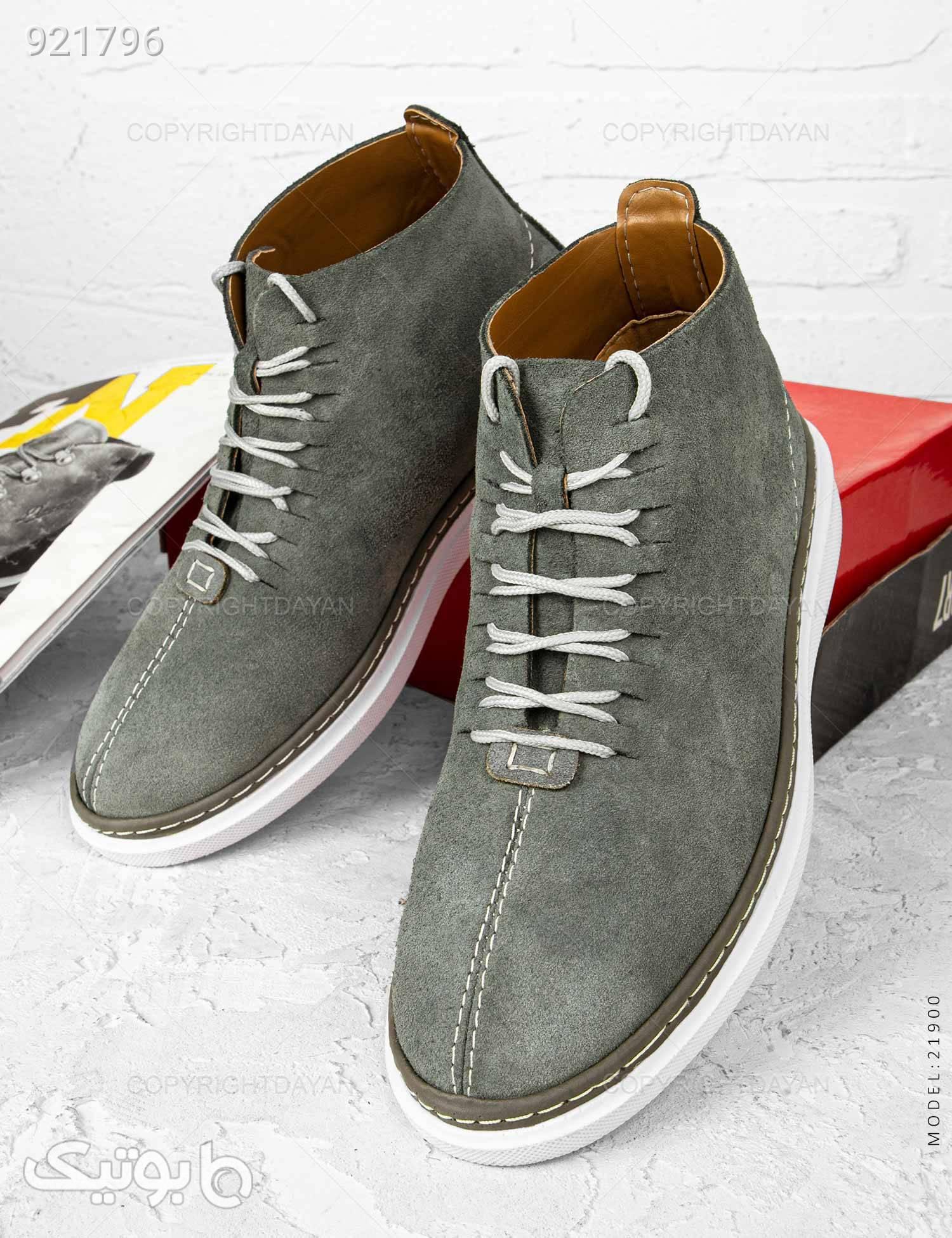 کفش ساقدار مردانه Imaz مدل 21900 طوسی كفش مردانه