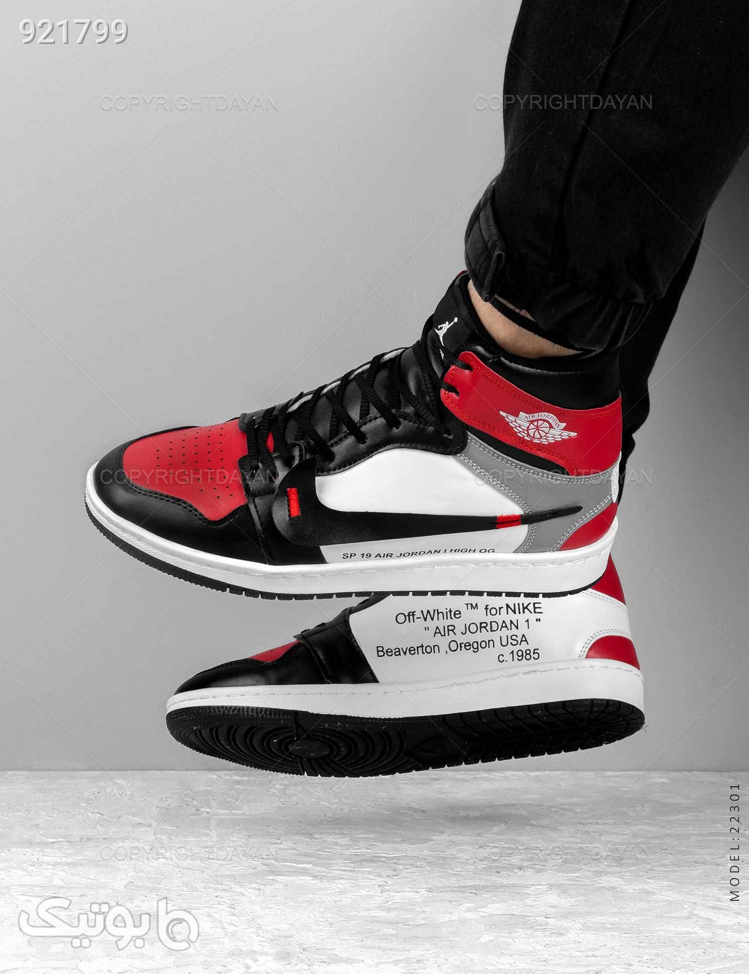 کفش ساقدار مردانه Jordan مدل 22301 مشکی كفش مردانه