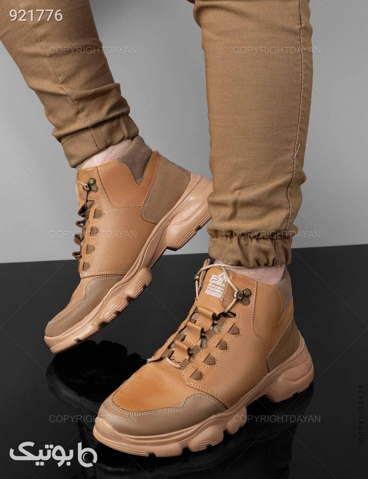 کفش ساقدار مردانه Mason مدل 21924 قهوه ای كفش مردانه