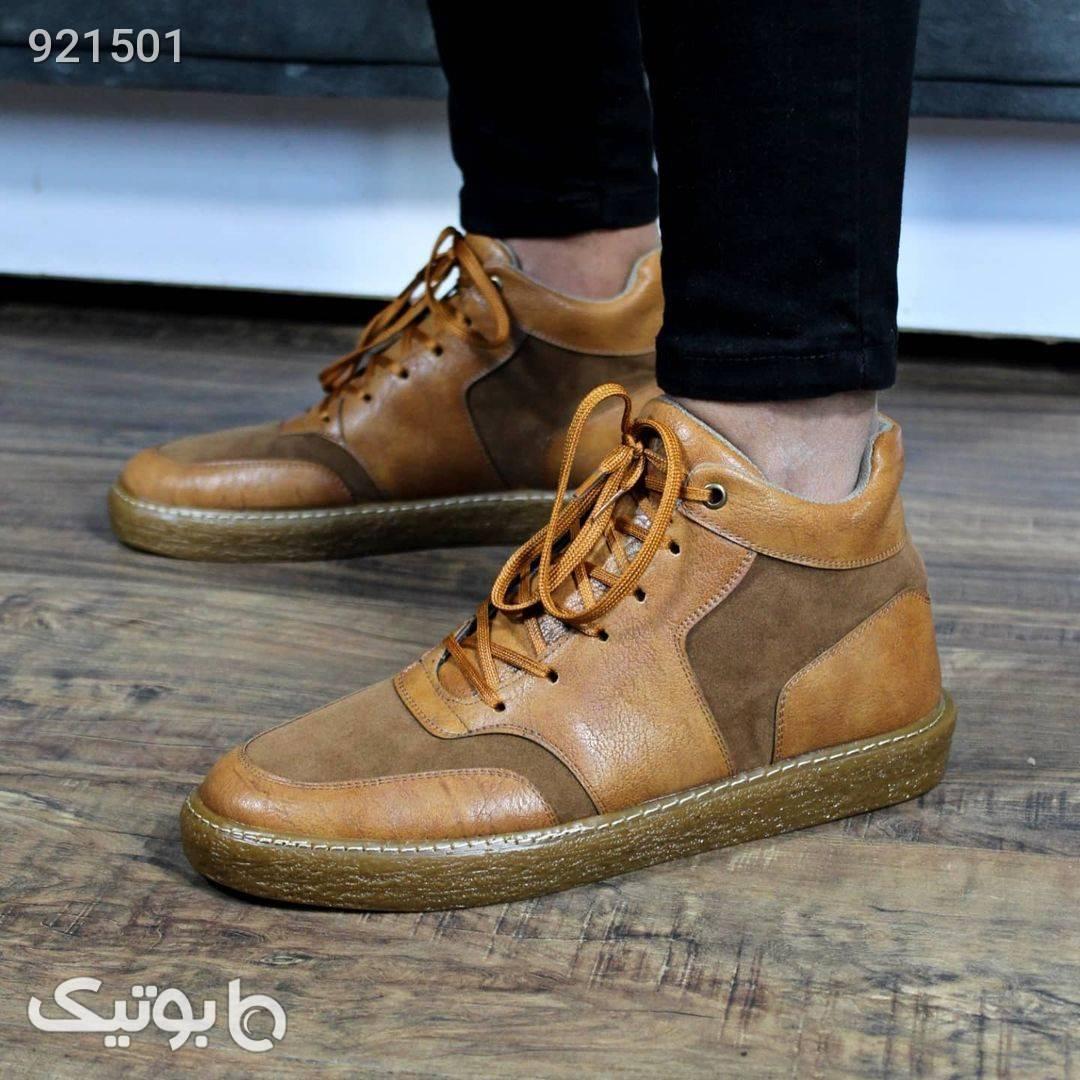 کفش مردانه ساقدار مدل جدید 1400 مشکی كفش مردانه