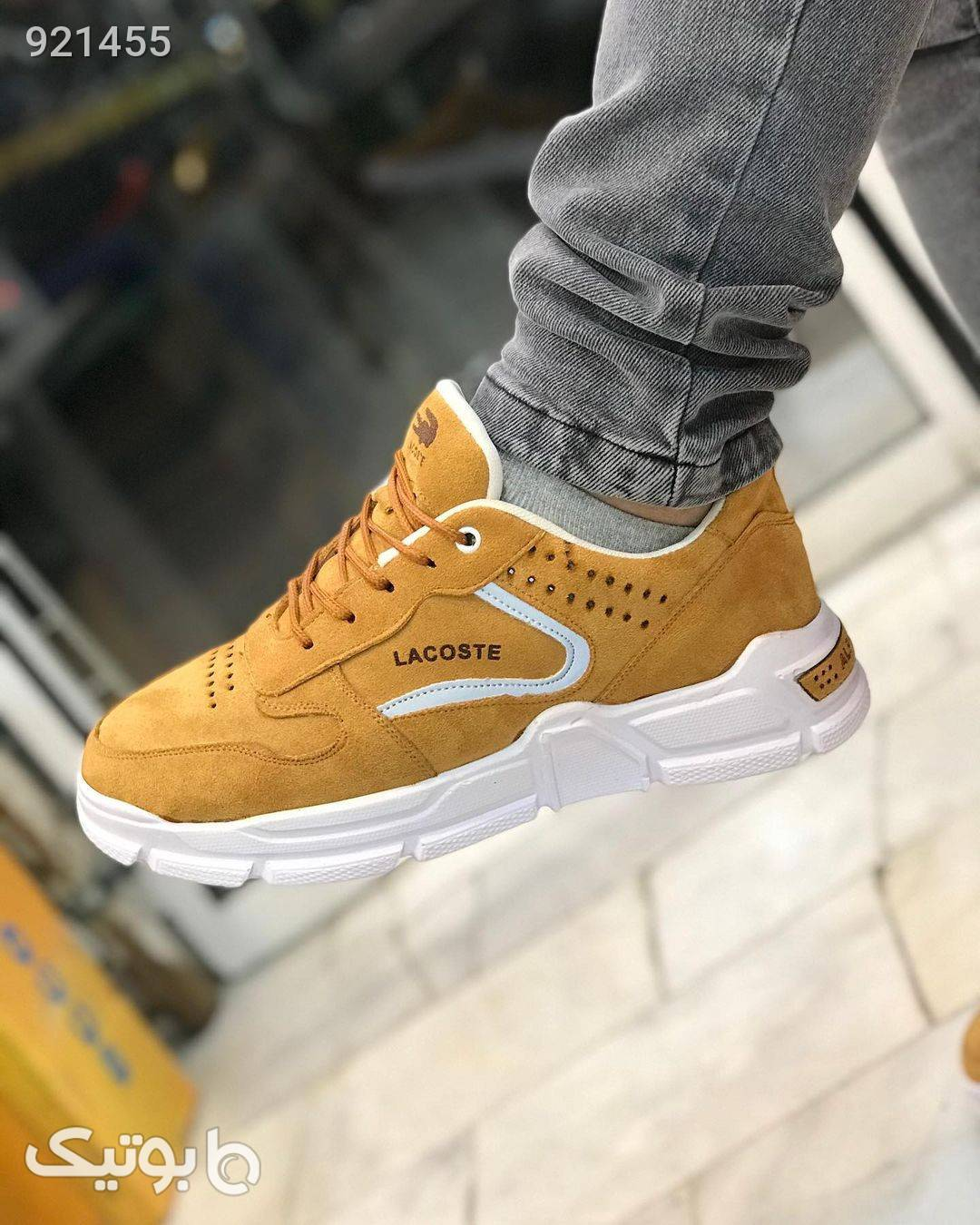 کفش مردانه شیک و راحت نارنجی كفش مردانه