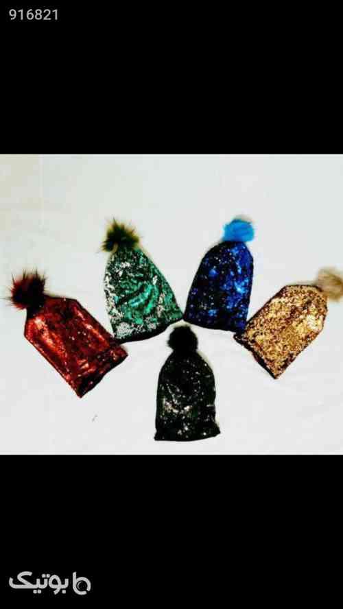 کلاه پوم پوم زیره پشم زمستانی  - لباس کودک دخترانه